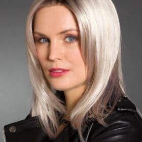 Gina SF (Platinum-Blond-Grey-Root)