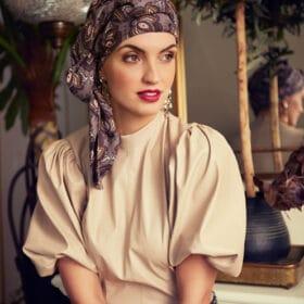 Christine Headwear Boho Turban set